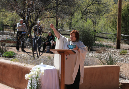 Pastor Elizabeth Lyman, Earth Day 2009